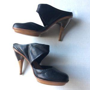 Anthropologie Leifsdottir Jenni Shoes 38.5 leather